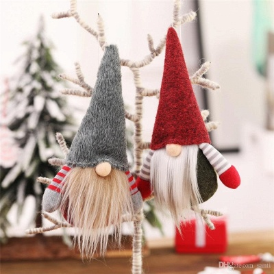 10 pieces Christmas tree decorations red Unusual Christmas tree decorations_9