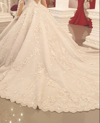 Beautiful wedding dresses princess | Wedding dress with lace_3