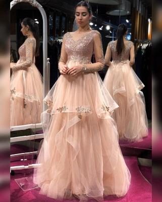 Elegante Abendkleider Lang Glitzer | Abiballkleider Online Kaufen_2