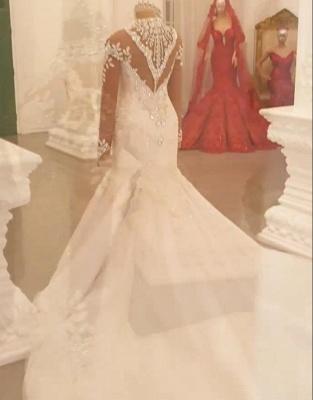 Brautkleider Mit Ärmel | Hochzeitskleider Meerjungfrau Prinzessin_4