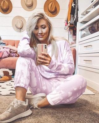 Pajamas women pink | Pajamas with leggings_6