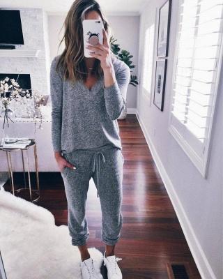 Warmer Winter Schlafanzug Damen | Schlafanzug Frauen_2