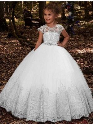 Blumenmädchen Kleider Hochzeit | Blumenmädchen Kleid Spitze_6