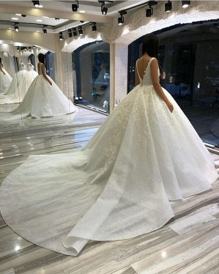 Designer Brautkleider Prinzessin | Hochzeitskleider mit Spitze_3
