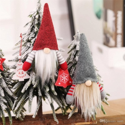 10 pieces Christmas tree decorations red Unusual Christmas tree decorations_3