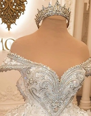 Extravagant wedding dresses | Princesses wedding dresses with lace_4
