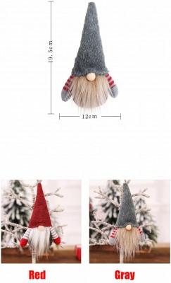 10 Stück Weihnachtsbaumschmuck Rot Ausgefallener Christbaumschmuck_4