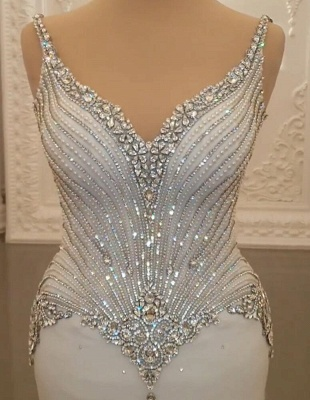 Fashion wedding dresses with glitter | Wedding dresses mermaid online_3