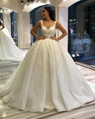 Designer Brautkleider Prinzessin | Hochzeitskleider mit Spitze_2