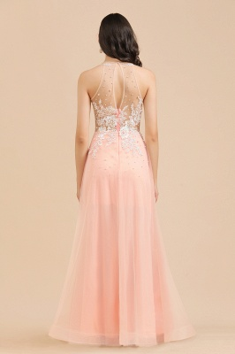 Designer evening dresses | Evening dress long pink_8