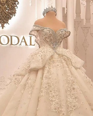 Extravagant wedding dresses | Princesses wedding dresses with lace_1