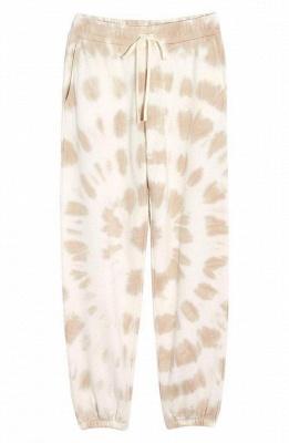 Weißer Pyjama Damen | Schlafanzug Lang mit Bündchen_4