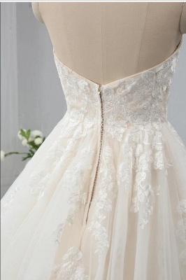 Designer Brautkleider A Linie | Hochzeitskleider mit Spitze Online_4
