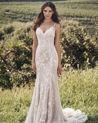 Designer wedding dress mermaid | Wedding dresses with lace online_2
