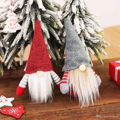 10 pieces Christmas tree decorations red Unusual Christmas tree decorations_8