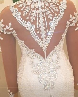 Brautkleider Mit Ärmel | Hochzeitskleider Meerjungfrau Prinzessin_3