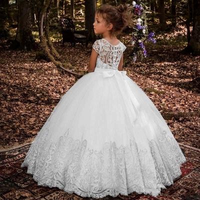 Blumenmädchen Kleider Hochzeit | Blumenmädchen Kleid Spitze_7