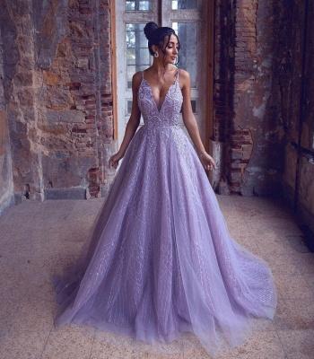 Extravagante Abendkleider Lang | Abiballkleider Glitzer Online_2