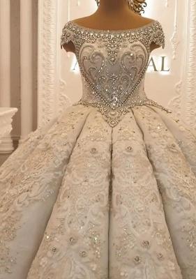 Brautkleid Vintage Lange Ärmel | Hochzeitskleid Tüll Prinzessin_5