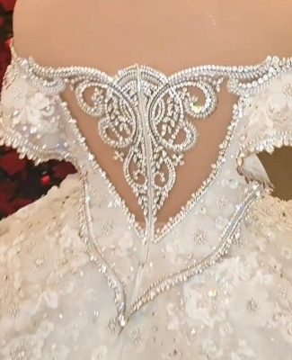Extravagant wedding dresses | Princesses wedding dresses with lace_2