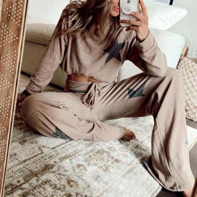 Schlafanzug Grau Damen | nNachtwäsche Online Kaufen