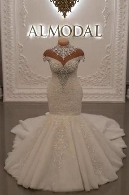 Luxus Brautkleider Spitze | Brautmoden Hochzeitskleider Meerjungfrau_1