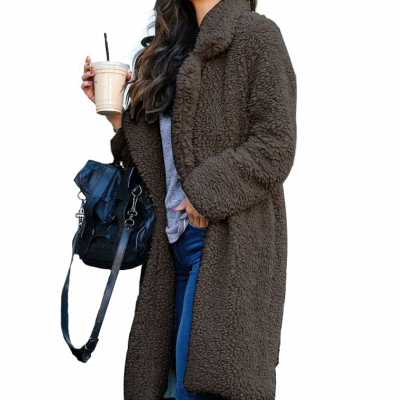 Warm women's coat winter | Elegant women's long jackets_3