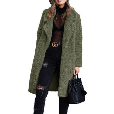 Warm women's coat winter | Elegant women's long jackets_4