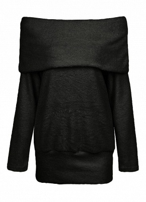 Hoodie Black | Women's winter sweatshirt pullover_8