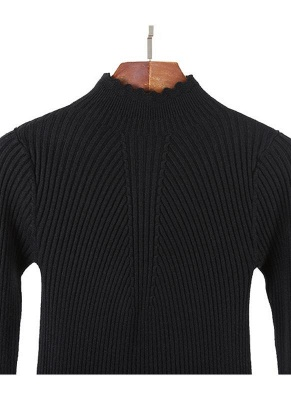 Hilfiger Sweater Black | Sweat jacket knitted sweater women_12