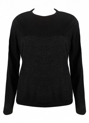 Fashion Hoodies Shop | Sweatshirt Pullover Damen Schwarz_4