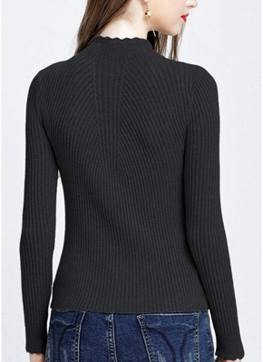 Hilfiger Sweater Black | Sweat jacket knitted sweater women_11