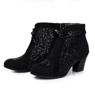 Heeled boots black | Women's shoes online_3