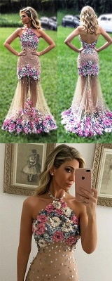 Colored prom dresses evening dresses cheap flower party dresses online_2