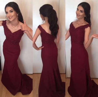 Extravagant evening dresses long with lace chiffon prom dress cheap online_2