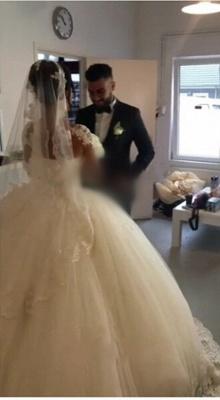 Designer Brautkleider Prinzessin | Hochzeitskleider mit Ärmel_3