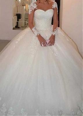 Designer Brautkleider Prinzessin | Hochzeitskleider mit Ärmel_4