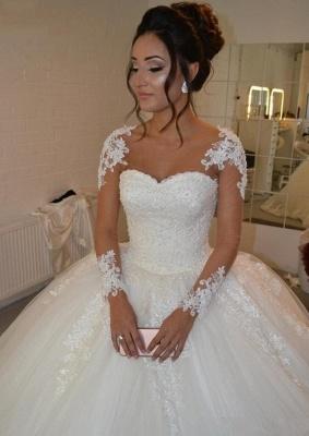 Designer Brautkleider Prinzessin | Hochzeitskleider mit Ärmel_1