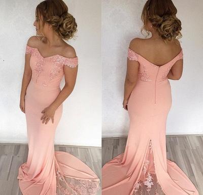 Elegant evening dresses long with lace beautiful evening dress chiffon cheap_2