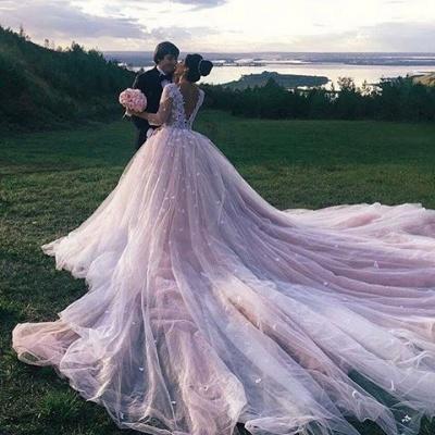 Luxury Brautkleider Mit Lange Schleppe Online Bestellen Hochzeitskleider_2