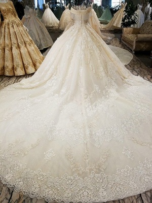 Luxury Prinzessin Hochzeitskleider Mit Spitze Brautkleider Günstig Online_3