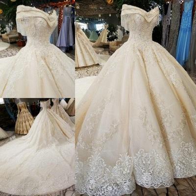 Luxury Prinzessin Hochzeitskleider Mit Spitze Brautkleider Günstig Online_2