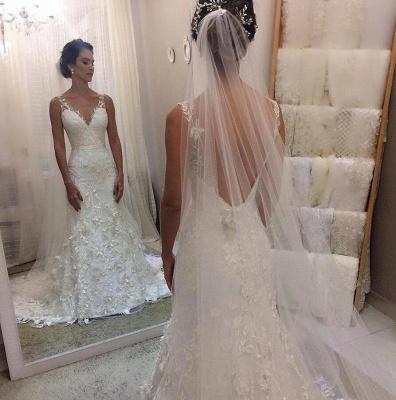 Fashion Brautkleider Mit Spitze | Hochzeitskleider Rückenfrei Online_2