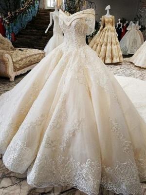 Luxury Prinzessin Hochzeitskleider Mit Spitze Brautkleider Günstig Online_1