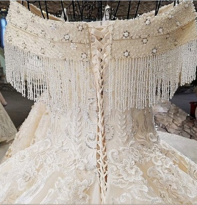 Luxury Prinzessin Hochzeitskleider Mit Spitze Brautkleider Günstig Online_5