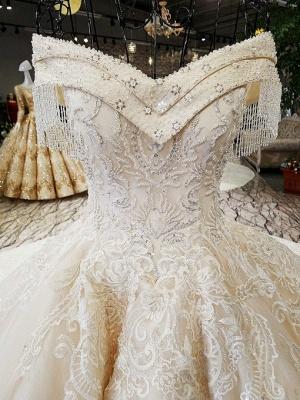 Luxury Prinzessin Hochzeitskleider Mit Spitze Brautkleider Günstig Online_4