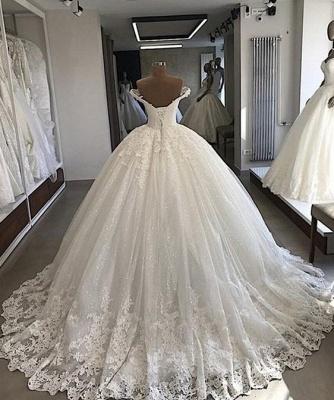 Elegante Brautkleider Prinzessin | Spitze Hochzeitskleider Günstig Online_2