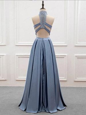 Elegante 2 Teilige Abendkleider, Spitze Abendkleider Spitzenkleid lang Online_2