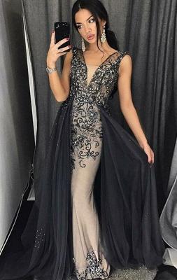 Luxury evening dresses long black | Prom dresses glitter online_1