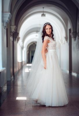 Neue Etuikleider Brautkleider Weiß Mit Spitze Organza Brautmoden Hochzeitskleider_5